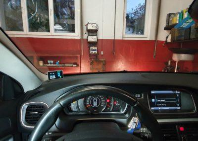 Montage kit aide au stationnement